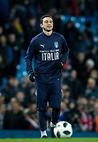 Matteo Darmian (Manchester United) of Italy post match during the International Friendly match between Argentina and Italy at the Etihad Stadium, Manchester, England on 23 March 2018. Photo by Andy Rowland.