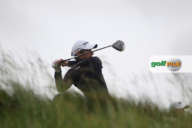 Lorenzo Gagli (ITA) on the 15th during round 2 of the Irish Open at Royal Portrush GC,Portrush,County Antrim,Ireland. 29/6/12.Picture Fran Caffrey www.newsfile.ie