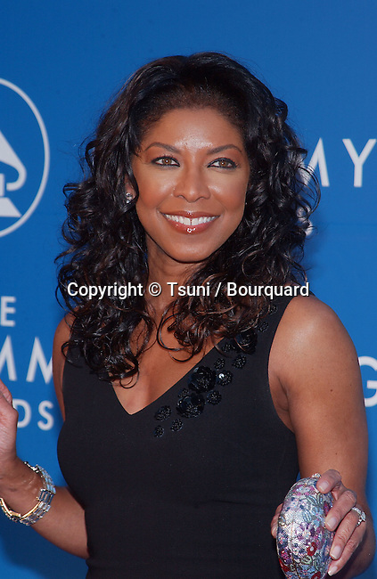 Natalie Cole arrives for the 44th Annual Grammy Awards at the Staples Center in Los Angeles, Ca., Feb. 27, 2002.
