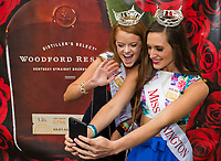 LOUISVILLE, KY - MAY 05: Miss America contestants on Kentucky Derby Day at Churchill Downs on May 5, 2018 in Louisville, Kentucky. (Photo by Scott Serio/Eclipse Sportswire/Getty Images)