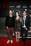 Mary ElizAndrew Veyette, mary Elizabeth Sell and Giovanni Villalobos Attend The Premiere of the new AOL On Original Series city.ballet Held at Tribeca Cinemas, NY