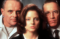 The Silence of the Lambs (1991) <br /> Promo shot of Jodie Foster, Anthony Hopkins &amp; Scott Glenn<br /> *Filmstill - Editorial Use Only*<br /> CAP/KFS<br /> Image supplied by Capital Pictures