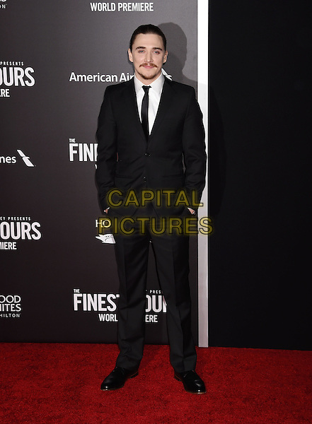 HOLLYWOOD, CA - JANUARY 25: Actor Kyle Gallner arrives at the Premiere Of Disney's 'The Finest Hours' at TCL Chinese Theatre on January 25, 2016 in Hollywood, California.