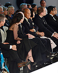 MIAMI, FL - FEBRUARY 13: Fashion designer Oscar De La Renta attends the Designed For A Cure 2014 Benefiting Sylvester Comprehensive Cancer Center at Ice Palace on February 13, 2014 in Miami, Florida. (Photo by Johnny Louis/jlnphotography.com)