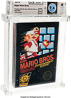 Super Mario game could break world record £60k at auction