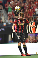 Atlanta, Georgia - Saturday, September 16, 2017: Atlanta United tied Orlando FC, 3-3, in Mercedes Benz Stadium, in front of a new MLS single-match attendance record crowd of 70,425, extending the team's home unbeaten streak to nine matches.