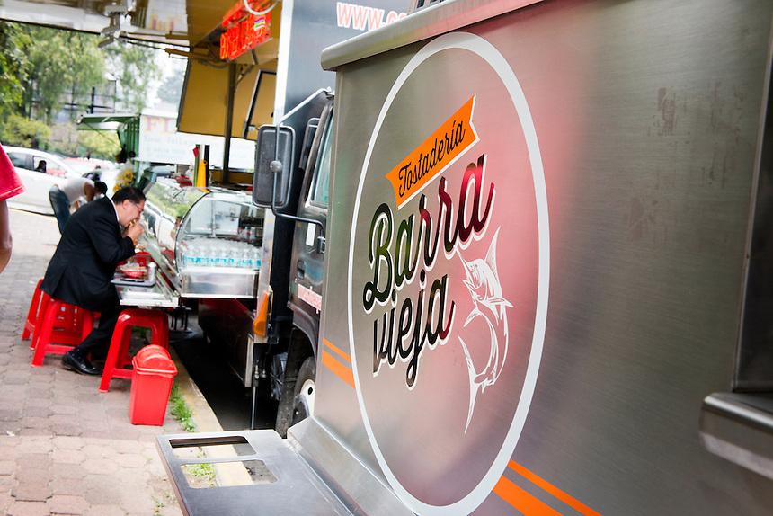 Barra Vieja, Food trucks, Mexico DF