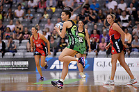 Pulse' Karin Burger in action during the ANZ Premiership - Pulse v Tactix  at Fly Palmy Arena, Palmerston North, New Zealand on Sunday 10 March 2019. <br /> Photo by Masanori Udagawa. <br /> www.photowellington.photoshelter.com