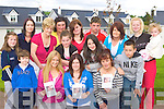 Preparing for the walk in aid of Crumlin Childrens Hospital Which will start in Tralee Road, Castlemaine on the 26th July is front row l-r: Darragh Quinn, Kerry O'Connor, Martina Quinn, Debbie O'Sullivan. Back row: Nicole Quinn, Helen Hayes, Nancy Coffey, Martina, Leanne, Michelle Cronin, Rebecca O'Sullivan, Jamie Cronin, Helena, Michael O'Sullivan, Heidi and Gracie Grimwood Milltown