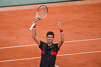 Novak Djokovic of Serbia during Day 8 of the French Open 2018 on June 3, 2018 in Paris, France. (Photo by Baptiste Fernandez/Icon Sport)