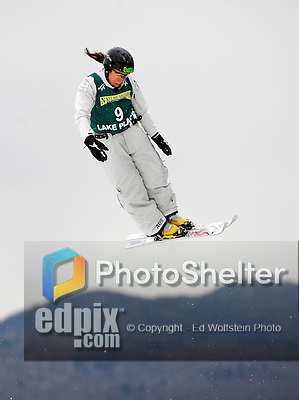 19 January 2008: Elizabeth Gardner from Australia in action during the FIS World Cup Freestyle Ladies' Aerial Qualifications at the MacKenzie Ski Jump Complex in Lake Placid, New York, USA...Mandatory Photo Credit: Ed Wolfstein Photo