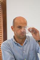 Joao Soares, owner. Herdade da Malhadinha Nova, Alentejo, Portugal