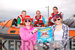 An X-Factor event will take place in The Ring of Kerry Hotel this Friday the 15th at 8:30pm in aid of the Ballinskelligs Inshore Rescue Service pictured here front l-r; Evelyn Goggin, Aoifa Murphy, back l-r; Pierce Kirby, Tim Kirby & David Walsh.....Ref Sinead