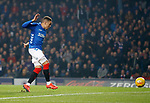 27.02.2019 Rangers v Dundee: James Tavernier scores goal no 2