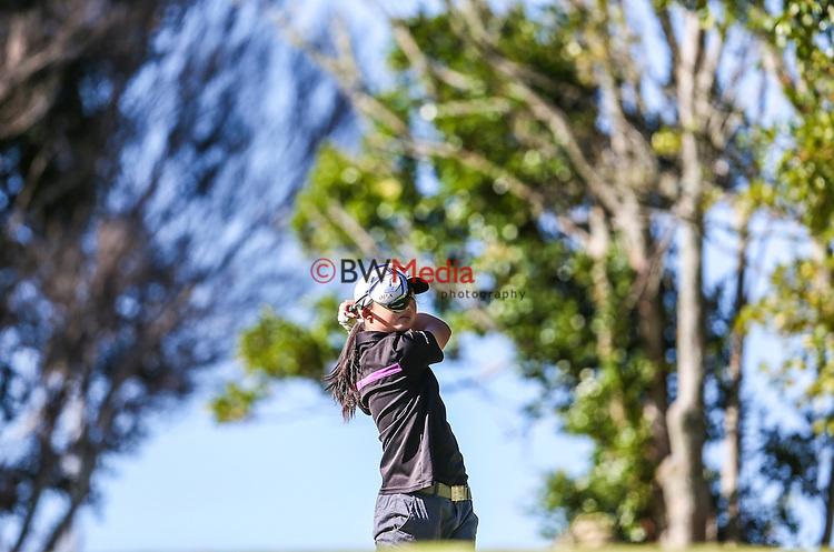Juliana Hung during the Barfoot and Thompson Charles Tour, Akarana Open, Akarana Golf Club, Auckland, Friday 15  April 2016. Photo: Simon Watts/www.bwmedia.co.nz