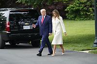 Trumps Depart for Fort McHenry in Basltimore, MD