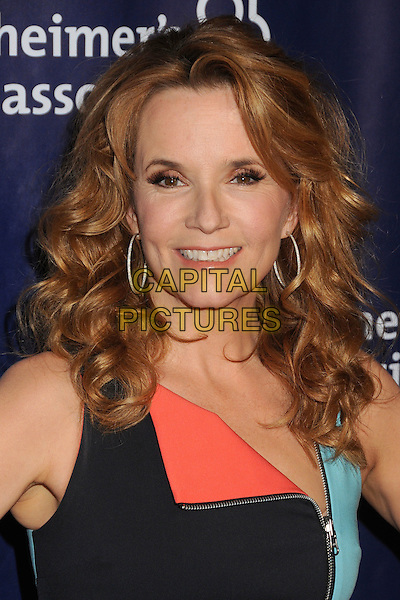 18 March 2015 - Beverly Hills, California - Lea Thompson. 23rd Annual &quot;A Night at Sardi's&quot; Benefit for the Alzheimer's Association held at The Beverly Hilton Hotel. <br /> CAP/ADM/BP<br /> &copy;BP/ADM/Capital Pictures