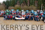 Kenmare Macra na Feirme Tractor Run in aid of Kerry Parents and Friends that was held in Kenmare Co-Op Mart on Sunday 3rd February.