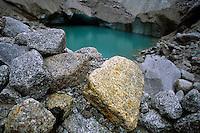 Lac d'Emeraude, Mer de Glace, Chamonix, France, 2001