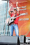 James Wesley performs during Day 2 of the 2013 CMA Music Festival in Nashville, Tennessee.