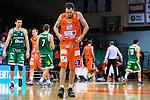 S&ouml;dert&auml;lje 2015-10-20 Basket Basketligan S&ouml;dert&auml;lje Kings - Bor&aring;s Basket :  <br /> Bor&aring;s Toni Vitali deppar under matchen mellan S&ouml;dert&auml;lje Kings och Bor&aring;s Basket <br /> (Foto: Kenta J&ouml;nsson) Nyckelord:  S&ouml;dert&auml;lje Kings SBBK T&auml;ljehallen Bor&aring;s Basket depp besviken besvikelse sorg ledsen deppig nedst&auml;md uppgiven sad disappointment disappointed dejected