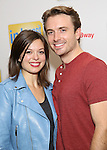 Margot Seibert and James Snyder attend the photo Call for 'InTransit' at The New 42nd Street Studios on October 27, 2016 in New York City.