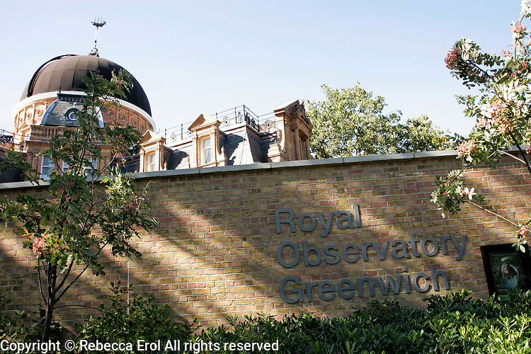 The Royal Observatory at Greenwich, London, UK