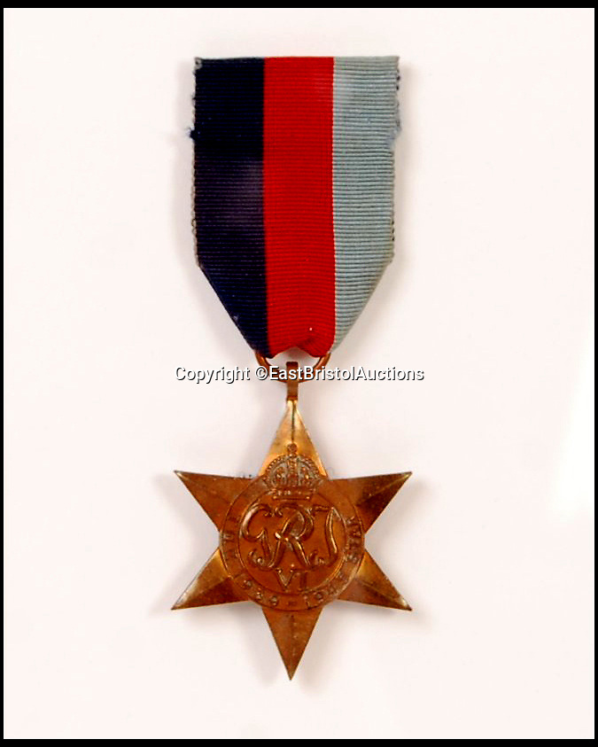 BNPS.co.uk (01202 558833)<br /> Pic:   EastBristolAuctions/BNPS<br /> <br /> During the war...<br /> <br /> A war medal that Uncle Albert wore with pride throughout Only Fools and Horses has emerged for sale at aution for £2,000.<br /> <br /> The decoration - a genuine World War II 1939-45 Star and ribbon - was regularly pinned to Albert's chest during his time on the legendary sitcom.<br /> <br /> It is one of a handful used during the comedy's production and was often seen hanging from the waistcoat of the much-loved white whiskered character.