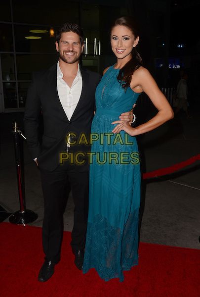 LOS ANGELES, CA - JANUARY 29 - Daniel Booko (Superfast), Nia Sanchez. Arrivals for the Los Angeles premiere of &quot;Best Night Ever&quot; at the Arclight Theater in Hollywood, Ca. <br /> CAP/ADM/BT<br /> &copy;Birdie Thompson/AdMedia/Capital Pictures