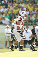2 September 2006: Pat Maynor during Stanford's 48-10 loss to the Oregon Ducks at Autzen Stadium in Eugene, OR.