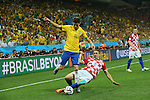 Oscar (BRA), <br /> JUNE 12, 2014 - Football /Soccer : <br /> 2014 FIFA World Cup Brazil <br /> Group Match -Group A- <br /> between Brazil 3-1 Croatia <br /> at Arena de Sao Paulo, Sao Paulo, Brazil. <br /> (Photo by YUTAKA/AFLO SPORT)