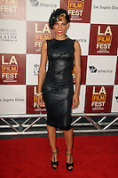 Goapele at Film Independent's 2012 Los Angeles Film Festival Premiere of AFFRM & Participant Media's 'Middle Of Nowhere' at Regal Cinemas L.A. Live on June 20, 2012 in Los Angeles, California. © mpi35/MediaPunch Inc. NORTEPOTO.COM<br />