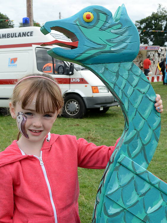 Bronagh Boylan pictured at the Viking festival in Annagassan. Photo:Colin Bell/pressphotos.ie