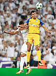 Real Madrid's Carlos Henrique Casemiro (l) and Apoel FC's Igor De Camargo during Champions League Group H match 1. September 13,2017. (ALTERPHOTOS/Acero)