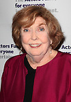 Anne Meara .attending the Actors Fund Gala honoring Harry Belafonte, Jerry Stiller, Anne Meara & David Steiner at the Mariott Marquis Hotel in New York City on 5/21/12