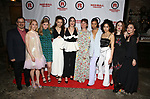 Jesse Berger, AnnaSophia Robb, Sophie Kelly-Hedrick, Lily Santiago, Isabelle Fuhrman, Erica Schmidt, Ayana Workman, Sharlene Cruz and Ismenia Mendes attends the Opening Night Party for Red Bull Theater's All-Female MAC BETH at Houston Hall on May 19, 2019 in New York City.