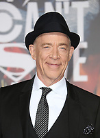 LOS ANGELES, CA - NOVEMBER 13: JK Simmons, at the Justice League film Premiere on November 13, 2017 at the Dolby Theatre in Los Angeles, California. Credit: Faye Sadou/MediaPunch
