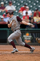 Nick Anders #2 of the Texas A&M Aggies follows through on his swing versus the UC-Irvine Anteaters in the 2009 Houston College Classic at Minute Maid Park February 27, 2009 in Houston, TX.  The Aggies defeated the Anteaters 9-2. (Photo by Brian Westerholt / Four Seam Images)