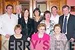 PARK: Enjoying the Killarney National Park Social in the Gleneagle Hotel last Friday night were, front l-r: Vera Clifton, Mary Parker and Kate Moriarty. Back l-r: Dion Farrell, Harry Clifton, Veronica Farrell, Anne ONeill, Anne Mulligan, John ONeill and Tim Moriarty..