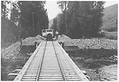 RGS Goose #6 coming onto bridge.<br /> RGS