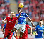 05.08.18 Aberdeen v Rangers: Lassana Coulibaly and Sam Cosgrove