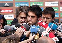 MADRID, ESPANHA, 21 MAIO 2012 - APRESENTACAO SELECAO ESPANHOLA - Jogador Isco durante chegada nessa terca-feira (21) a cidade de Las Rozas de Futebol, para concentracao da selecao espanhola para os amistosos contra as Seleçoes da Suíça, a Servia e Coreia do Sul.FOTO: ALEX CID-FUENTES - ALFAQUI - BRAZIL PHOTO PRESS