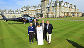 2014 Ryder Cup Trophy arrives at Gleneagles