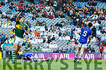 David Clifford celebrates scoring a goal in the All Ireland Minor Semi Final in Croke Park on Sunday.