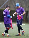 06.04.2018 Rangers training:<br /> Jason Holt and Fábio Cardoso