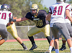 Palos Verdes, CA 09/16/16 - Jason Augello (Peninsula #58) in action during the Torrance - Palos Verdes Peninsula CIF Varsity football game.