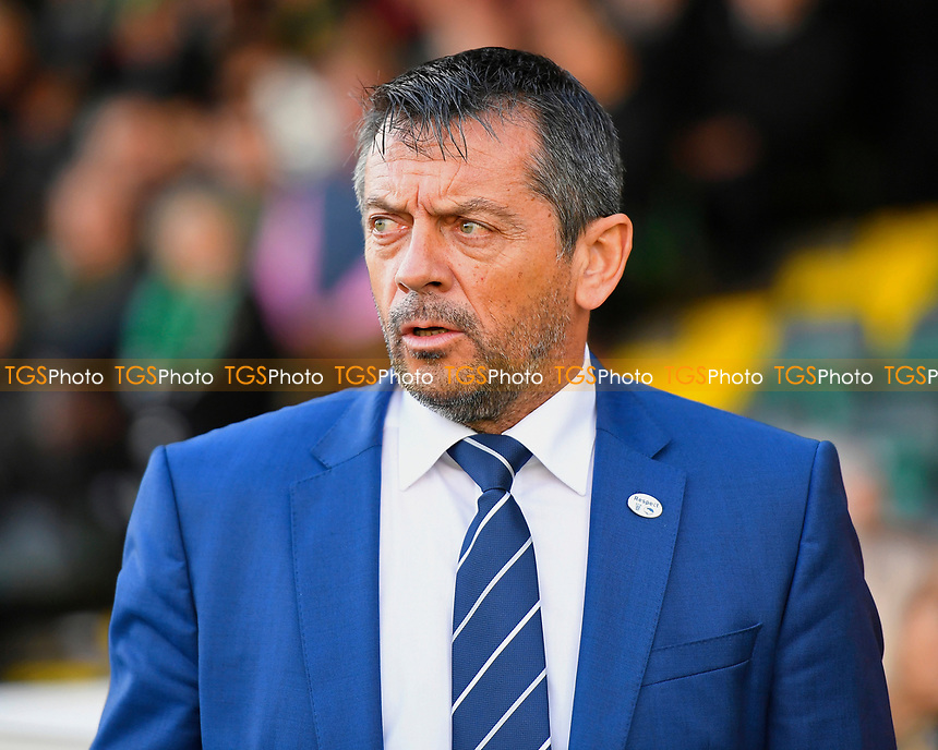 Southend United Manager Phil Brown during Yeovil Town vs Southend United, Emirates FA Cup Football at Huish Park on 4th November 2017