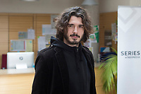 Actor Yon Gonzalez poses during the `Bajo sospecha´ TV Show presentation in Madrid, Spain. January 11, 2016. (ALTERPHOTOS/Victor Blanco)