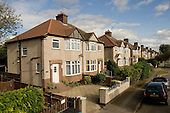 Semi-detached 1930s housing, Harrow, North West London..