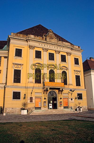 Varszinhaz building, Nemzeti Tancszinhaz housing the National Dance Theatre, Castle Hill District, Budapest, Hungary